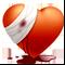 """Сувенир """"раненое сердце"""""""